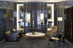 Lobby at Bulgari Hotel London