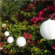 White Solar String Lights