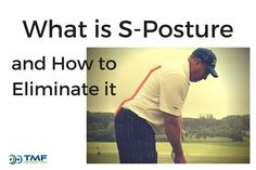 During your golf backswing do you feel like you are standing up? If so, you might be in an S-Posture position. This posture can lead to back pain.   Visit http://ToddMarshFitness.com to learn how to correct his swing fault and download the Free Guide.