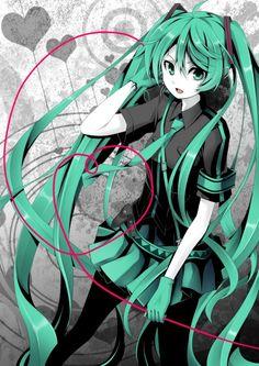 Miku Hatsune (Vocaloid - Love is War)