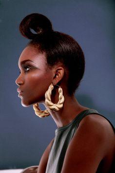 Banana Republic Bijoux énorme Gold Tone Drop Boucles D/'oreille Coupe cristaux pour filles
