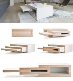 rek expanding coffee table