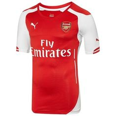e98379067 Arsenal FC Puma Authentic Home Jersey with Organizer - Red
