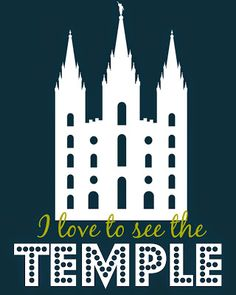 Blue Skies Ahead I Love To See The Temple Family Home Evening And Free Printables