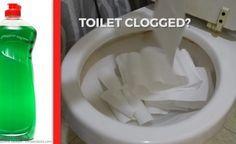 Mette Del Sapone Per Piatti Nella Toilette... Perché? Questa Non La Sapevo…