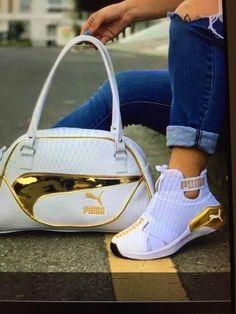 Nike Heels, Nike Air Shoes, Nike Purses, Puma Shoes Women, Pumas Shoes, Women's Shoes, Adidas Bags, Puma Sneakers, Childrens Shoes