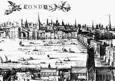 London before the 1666 Fire of London