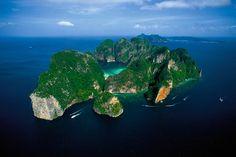 Ko Phi Phi Leh, by Yann Artus Bertrand. Been there!