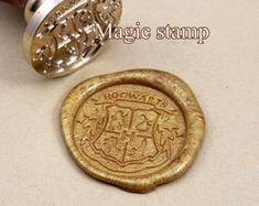 Harry Potter Hogwarts School Badge  Wax Seal Stamp, wedding stamp ,party wax seal stamp,Hogwarts wax seal stamp set