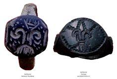 Inelul din bronz de la Seimeni și inelul din bronz descoperit în Europa, datat în secolele XI-XII e.n.