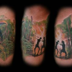 #tattoo #tattoos Watercolor Tattoo, Graphic Design, My Favorite Things, Tattoos, Drawings, Illustration, Instagram Posts, Tatuajes, Tattoo