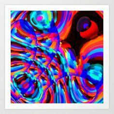 Omni-Centric Philosophy Art Print by David  Gough - $15.00