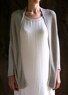 Ravelry: Folded Squares Cardigan pattern by Purl Soho 100% bambou sport 777-998m  free