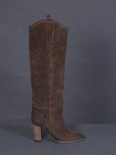 ISABEL MARANT FOOTWEAR : DELPHIA TALL DICKER BOOTS