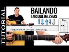 Como tocar Bailando en tutorial guitarra acordes guitarraviva - YouTube