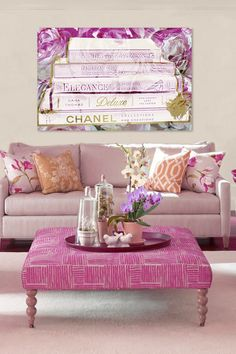 The painting of books ;) #InteriorDesign #interior #furniture #style #home #decor #design #books #chanel #livingroom