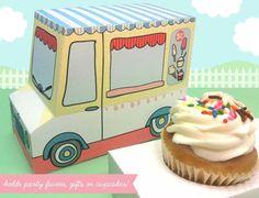 El packaging retro para cupcakes de Claudine Hellmuth es lo más - DecoPeques