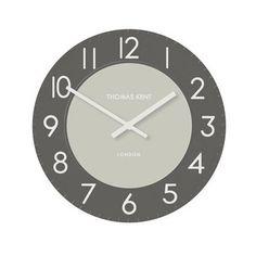 "Townhouse Clock 20"" Graphite"