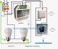 Esquemas eléctricos: Esquema eléctrico regulador varilamp