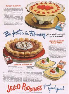 Dying for Chocolate: Be Festive in February: Retro Ad & Recipe  I love retro stuff! :)