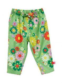 ej sikke lej Hose Hippie Flowers green