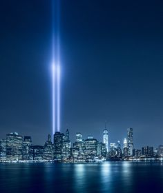 9-11 Tribute lights by Vladimir Kudinov on 500px
