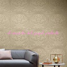 San Marco Wall by Rubelli Stores, Contemporary Design, Ottoman, Wallpaper, Interior, Damasks, Furniture, San, Home Decor