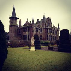 Abandoned Ecclesgrieg Castle, St.Cyrus, Aberdeenshire, Scotland.