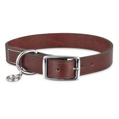 Bond+&+Co.+Mahogany+Leather+Collar+-+Bring+your+pup+into+the+now+with+the+Bond+&+Co.+Mahogany+Leather+Dog+Collar.+This+updated+take+on+a+classic+design+is+made+with+genuine+mahogany+leather+and+can+be+paired+with+the+Bond+&+Co.+Mahogany+Leather+Dog+Leash+for+the+ultimate+canine+fashion. - http://www.petco.com/shop/en/petcostore/product/bond-and-co-mahogany-leather-collar