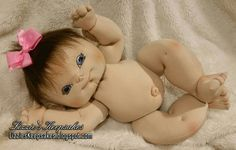 Soft sculpture doll, plush doll, cloth doll, realistic doll