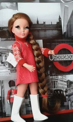 mod. London (1967) Dolly World, Vintage Dolls, My Childhood, Euro, London, Collection, Fashion, Italia, Accessories