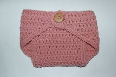 Newborn diaper cover --fee crochet pattern
