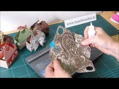 scrapbooking tutorial for box with envelope punch board ♥