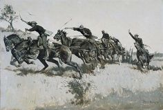 Capt. Grimes's Battery Going Up El Poso Hill | by Frederic Remington Art Museum