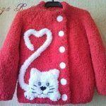 Crochet Kids Cardigan Pattern Sweater Coats 63 Ideas For 2019 Poncho Knitting Patterns, Crochet Poncho, Crochet Blanket Patterns, Knitting Designs, Baby Patterns, Baby Knitting, Cardigan Pattern, Baby Girl Crochet Blanket, Baby Sweaters