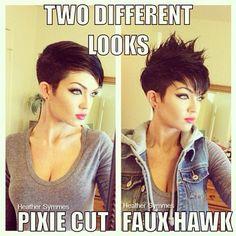 ladies hawks hair - Google Search