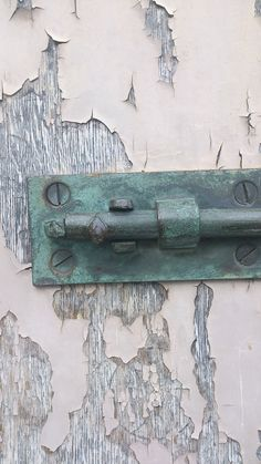 Old iron lock at Upnor Castle.