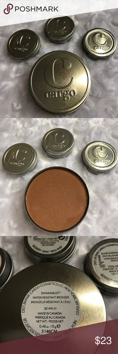 Cargo Bronzer, Blush, Eyeshadow. New Cargo Bronzer, Blush, Eyeshadow. New 1 full Size and 3 small. Sephora Makeup Bronzer