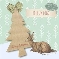 Kerstkaarten en nieuwjaarskaarten van Santhos! Place Cards, Place Card Holders, Christmas Ornaments, Logos, Holiday Decor, Design, Christmas Jewelry, Logo