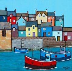Buy Wharf, Acrylic painting by Paul Bursnall on Artfinder. Discover thousands of other original paintings, prints, sculptures and photography from independent artists.