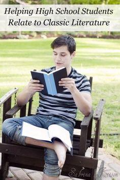 On Purpose (pt. 1): Help High School Students Appreciate Rich Literature - 7sistershomeschool.com