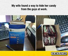 A Way To Hide Her Candy