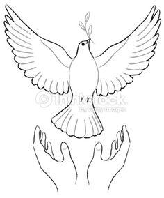 Ilustración de stock : The Peace Messenger