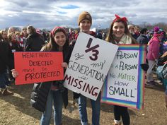 Some of the Best Pro-Life signs at the 2017 Pro Life Quotes, Post Quotes, Life Poster, Life Is Precious, Protest Signs, Choose Life, Anti Bullying, Pro Choice, Baby Quotes