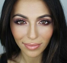 MAKEUP: I like this makeup for everyday wear. Her eyes look amazing! #SmirnoffContestEntry