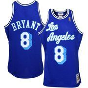 7377fd5256f3 Los Angeles Lakers  8 Kobe Bryant Royal Blue 1996-97 Anniversary Basketball  Replica Jersey