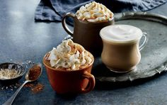Pumpkin Spice Latte With Real Pumpkin at Starbucks
