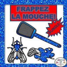 This French Fly Swatter Bundle contains three games for each of the regular verb groups. Verbs have been left in the infinitive form.N.B.: You will need to purchase two soft plastic/rubber fly swatters from your local garden store to play this game in class.See links below for full descriptions and previews for products included in this bundle:Frappez la mouche -ERFrappez la mouche -REFrappez la mouche -IRI hope this product is useful to you and your students.