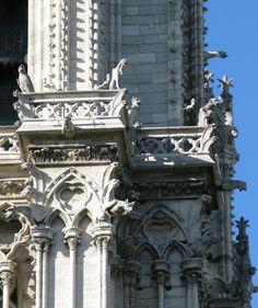Gargoyles, Notre Dame