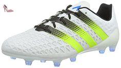 more photos b45e1 38c14 adidas Ace 16.1 FgAg, Chaussures de Football Homme, Blanc (Ftwr White